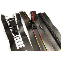 Custom Printing logo Multi-use TPU waterproof zippers and gastight zippers for water sports