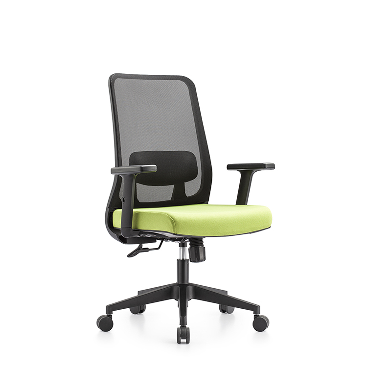 Nodern luxury new ergonomic office reception leisure visitor mesh furniture swivel chair