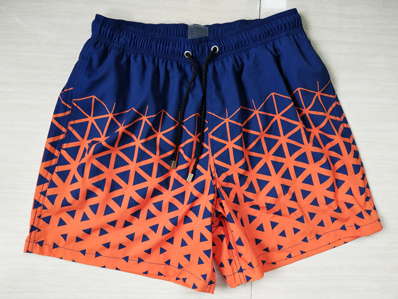 bottle RPET recycled 4 way stretch fabric digital printed swim trunks boardshorts beach shorts