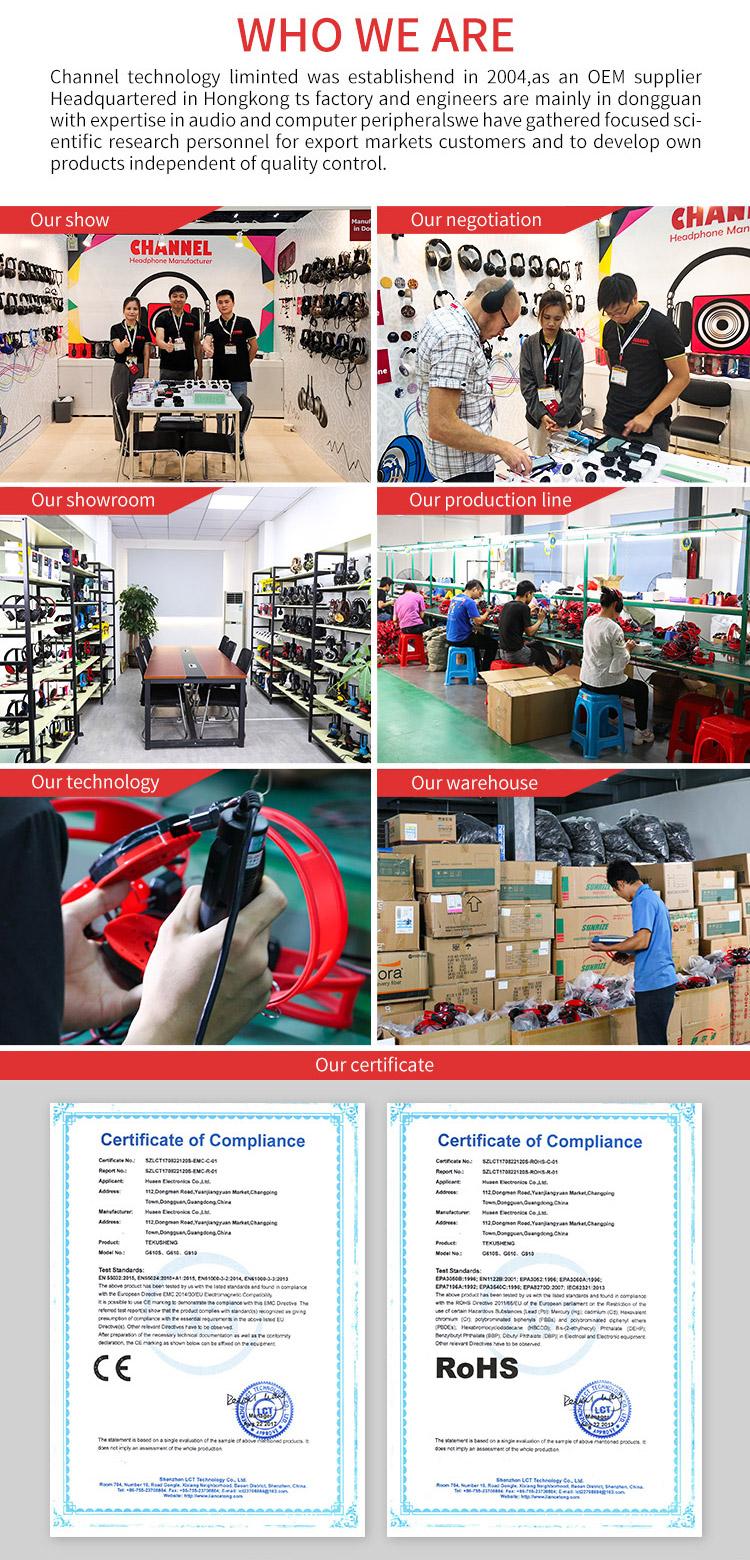 Chine Usine La Plus Chaude Écouteurs Meilleur Article De Vente BT5.0 Style Bandeau Casque