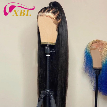 XBL HD transparent human hair wigs,Wholesale HD full fake scalp human hair wigs,glueless mink brazilian 40 inch human hair wigs