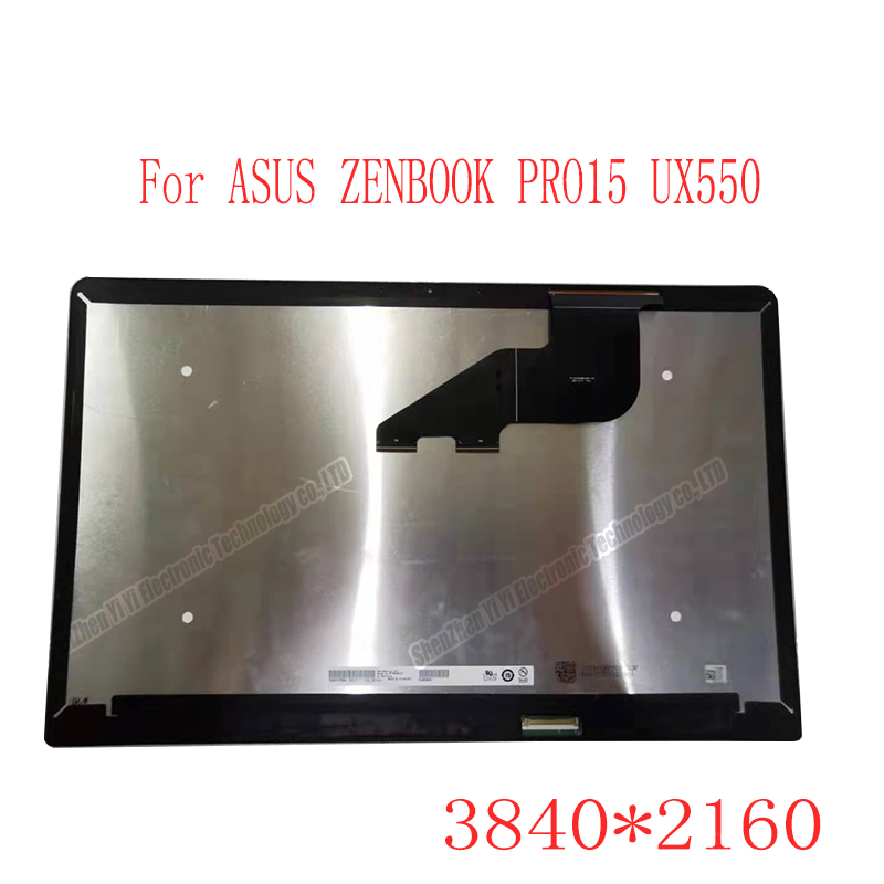 LCD assembly for ASUS ZENBOOK PRO15 UX550 Touch Screen Digitizer LCD 3840*2160 B156ZAN03.1 1920*1080 N156HCE-EN1 фото