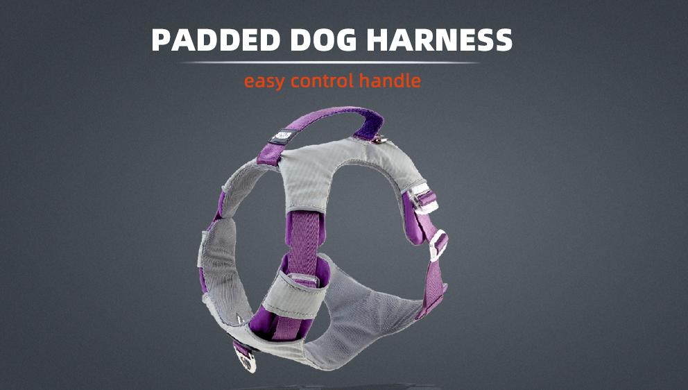 2020 Nieuwe Ontwerp High-End Huisdier Producten Front Range Geen Pull Veiligheid Hond Harnas