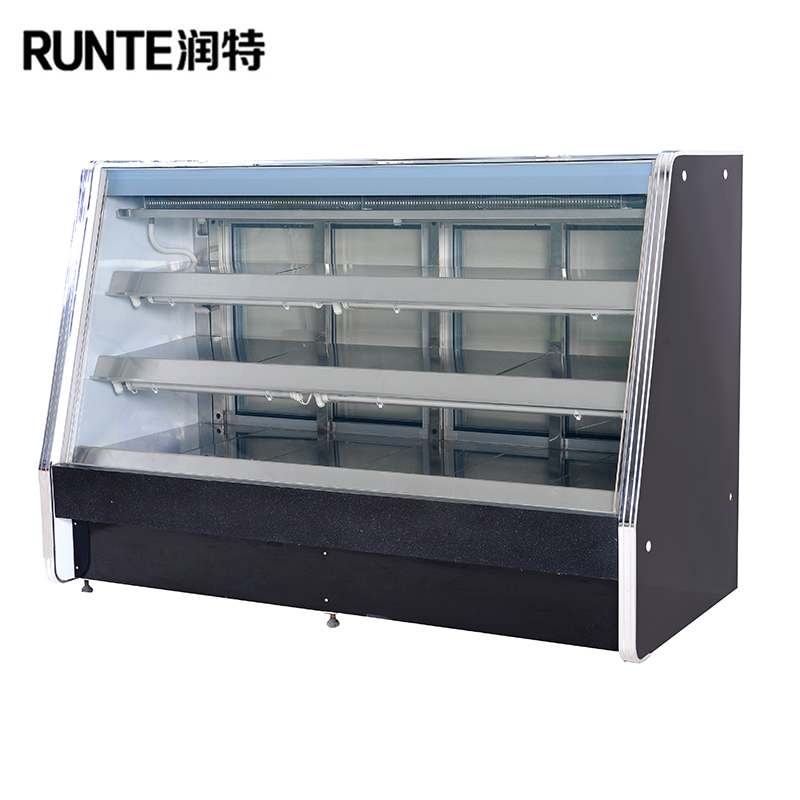 Supermarket cooked food freezer refrigerator food display counter