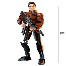 Звездные войны капитан фасма Obi Wan General гривус кило Рен Дарт Вейдер Боба Фетт фигурка штурмовика блоки игрушки для детей(Китай)