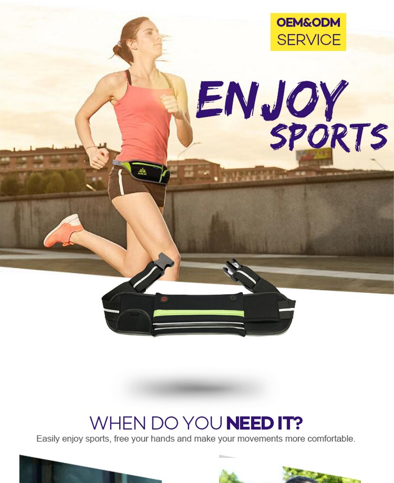 Popular Products Trend Unisex Lightweight Level Marathon Belt To Carry Phone Best Running Belt