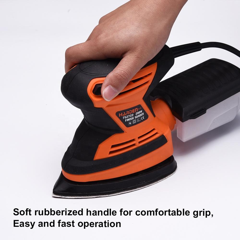 Трескается и не отвердевает електричюеского инструмента защиты электрический ручной Pro ладони отделка шлифовальная машина для продажи