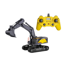 1:14 Remote Control Truk Alloy Model <span class=keywords><strong>Penggali</strong></span> 22 CH <span class=keywords><strong>RC</strong></span> Excavator Hobi Mainan