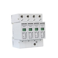 SUP1 AC PV Surge Protection Device 2/4 Pole Surge Suppressor for Distribution Power System