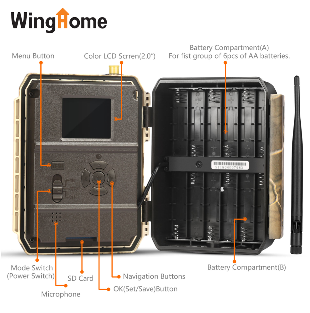 new arrival 2g 3g 4g gsm app control outdoor night vision infrared time lapse digital game hunting trail camera waterproof