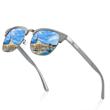 New Classic Frameless Polarized All-Aluminum-Magnesium Driving and fishing Sunglasses