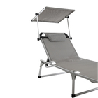 Aluminum oxidation surface treatment folding beach chair