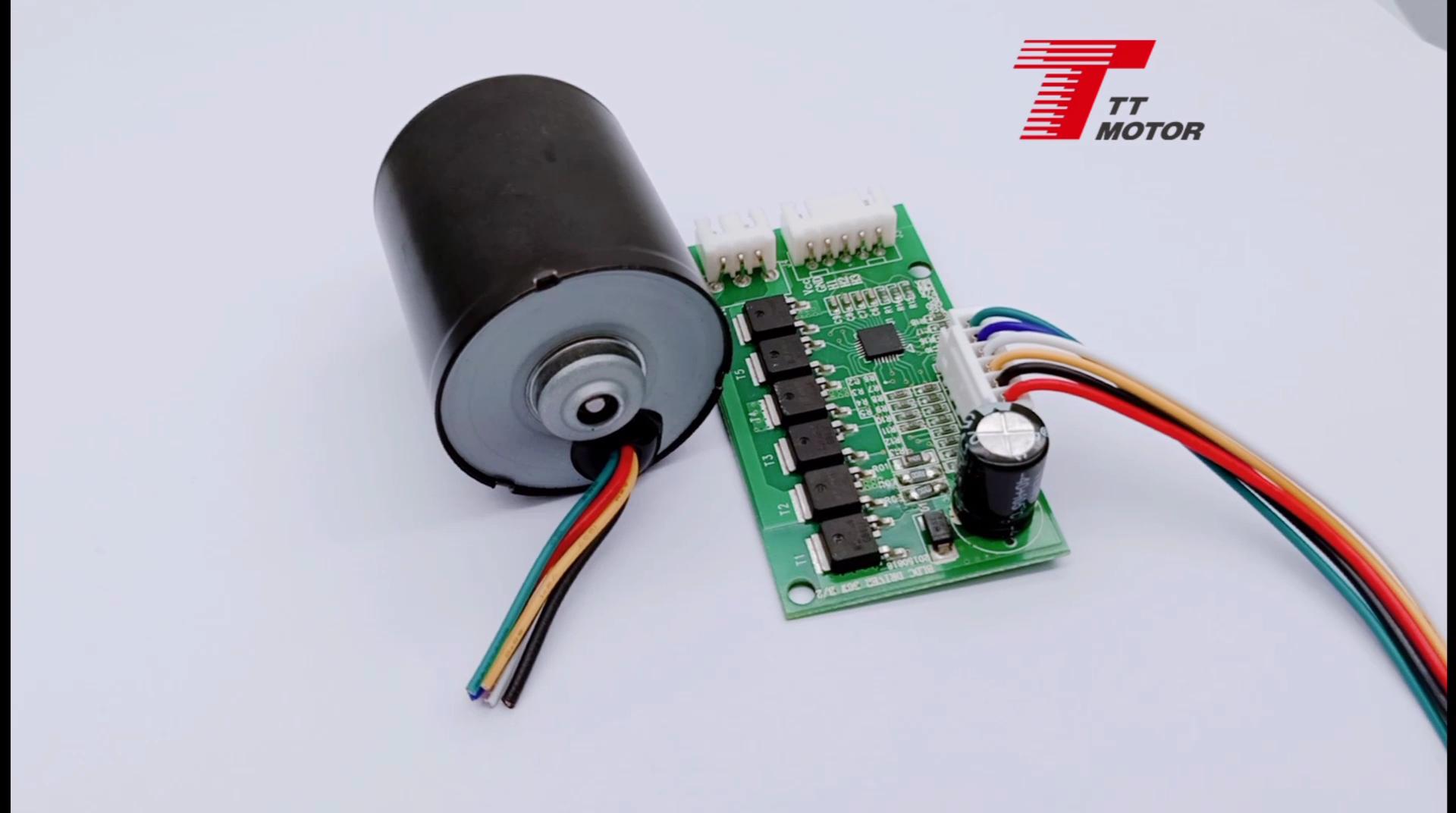 Gerador de motor dc 42mm sem escova, para rastreador solar