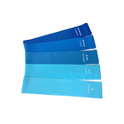 Fitness Latex Custom Color Mini Loop 5 Level Blue Booty Resistance Band