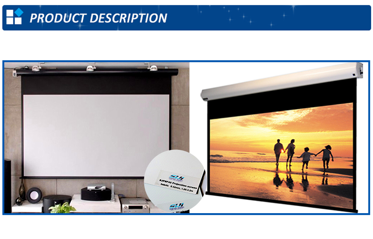 rear projection screen fabric project film