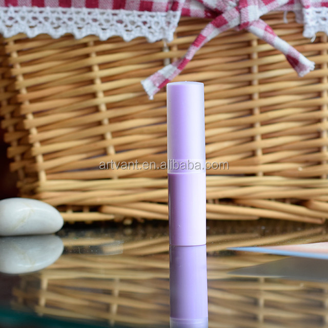 2019 New Arrival 4G DIY Empty PP Lip Balm Tube Frosted Cover Lipstick Tube 7 Colors Lip Balm Container Wax Tubes