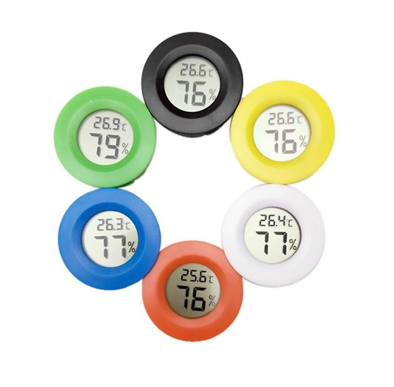 Mini Thermo-hygromètre Numérique Thermomètre Hygromètre Rond TPM-50