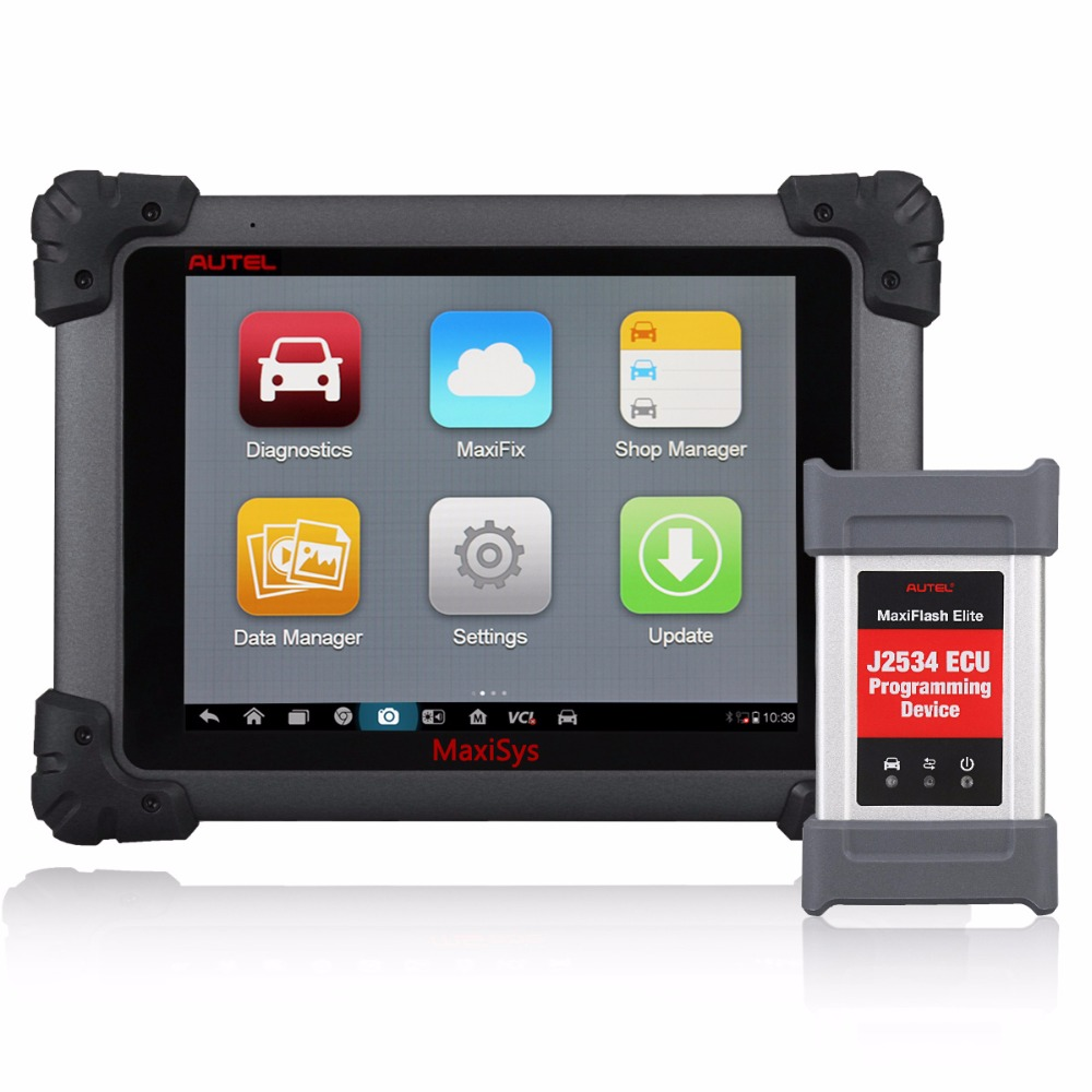Autel originale MaxiSys MS908p FullSystem con MaxiFlash Elite ECU Aggiornamento In Linea Multi-Language Auto Scanner Diagnostico MS908P