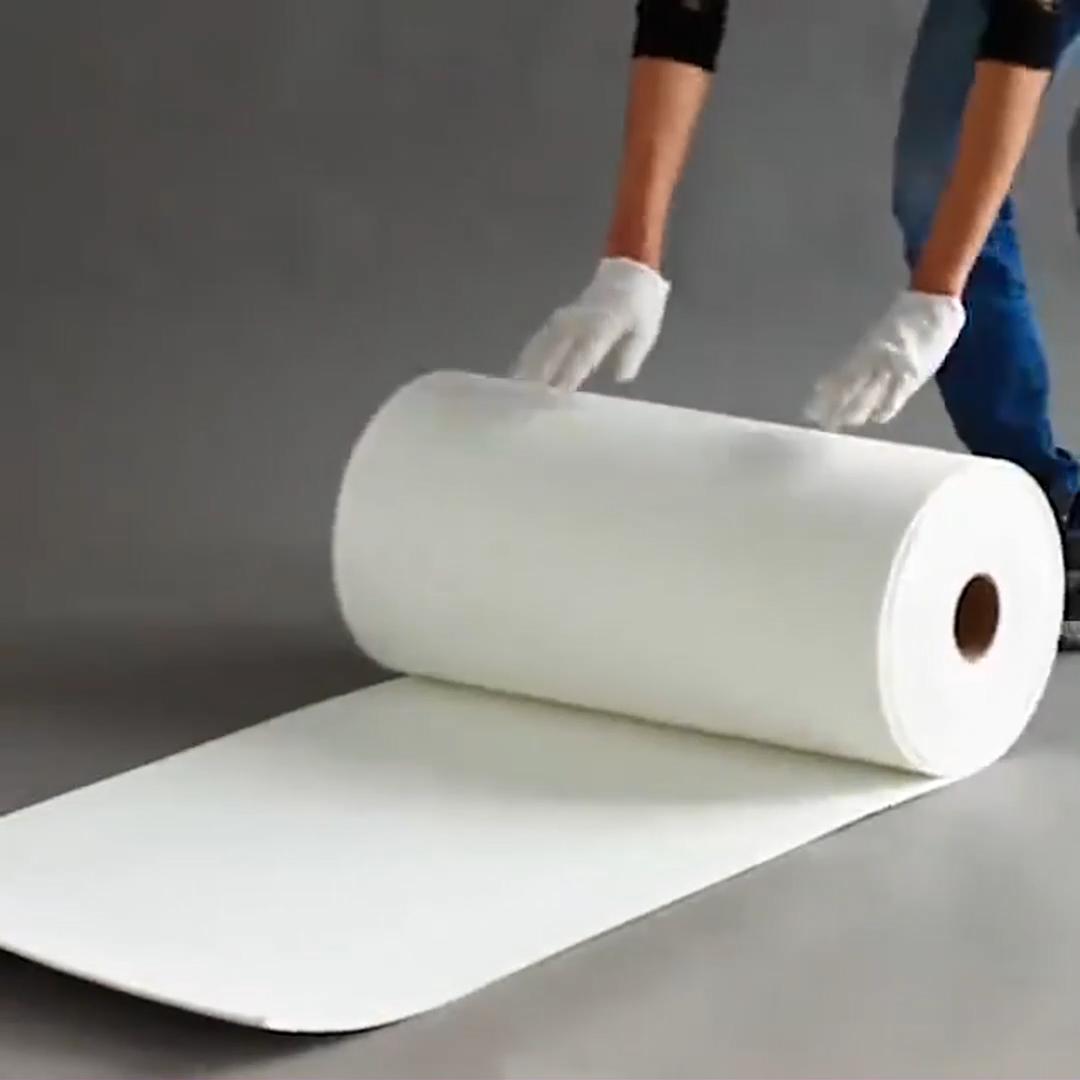1260 Tahan Api 5 Mm Tebal Ceramic Fiber Paper