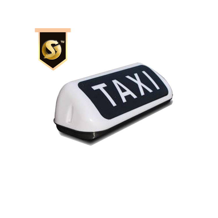Custom Taxi Top Light Box Advertising Car Roof Display Led Taxi Sign Roof Top Magnet