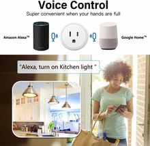 Prise intelligente Wifi Intelligent Smartlife Prise Us Usa Prise Standard Compatible Avec Alexa Google Home Mini