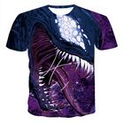OEM factory gym sports running bulk wear men wear mesh fabric insert sublimation printing dry fit breathable t shirt