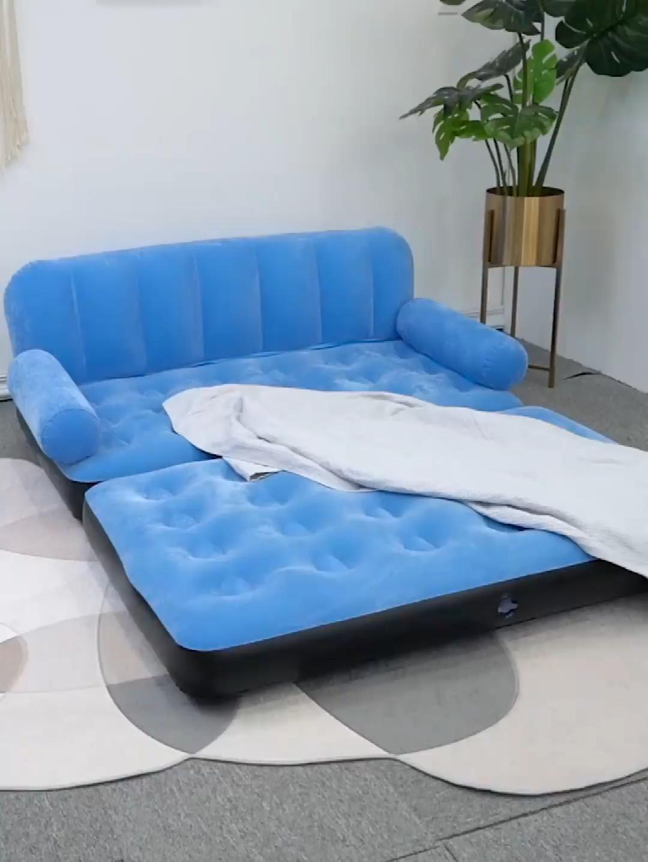 หลายสีสไตล์การออกแบบที่กำหนดเองแฟชั่นพับหนักพองเก้าอี้เฟอร์นิเจอร์ที่มีคุณภาพสูงโซฟาพอง