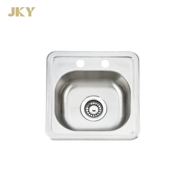 Deep 22 Gauge Ss 304 Brushed Bowl Sink