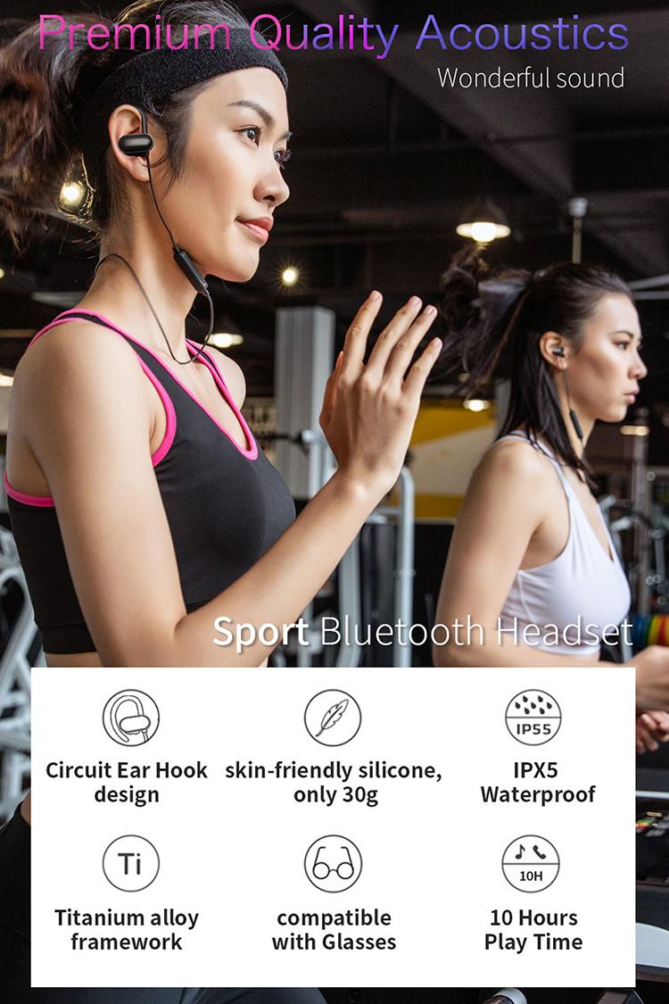 WIWU 双耳运动蓝牙耳机 (https://www.wiwu.net.cn/) 耳机 第8张