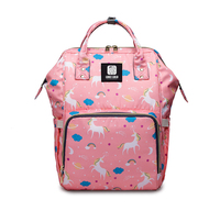 OEM customize multi-function backpack mommy bag with free sample