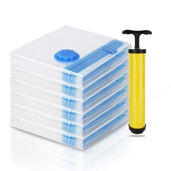 2019 Amazon Hot Sale New Product Travel Clothing Vacuum Storage Sealed Compressed Bag
