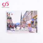 Travel souvenir scenery picture tinplate fridge magnet Tourist souvenir fridge magnet in tin material