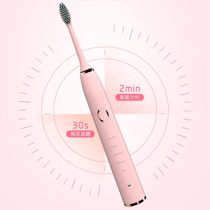 China factory Portable Wireless Smart Rechargeable Travel Automatic Sonic <strong>Electric</strong> <strong>Toothbrush</strong>
