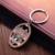 Firenze city name Metal make your own Logo Key chain customized italia souvenir robot KeyChain