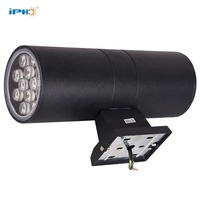 12W Ip65 Outdoor Waterproof Yard Garden Hotel Led Cylinder Wall Up Down Light