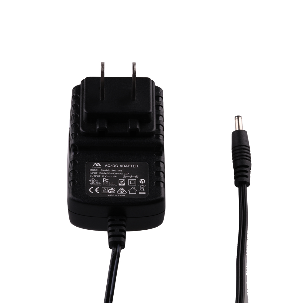 24v 0.5a wall-mounted ac/dc 12V 1A 12W switching power <strong>adapter</strong>