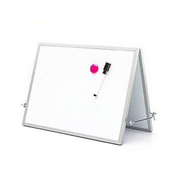 ABS round structure edging free standing dry erase white board erase double sided magnetic whiteboard