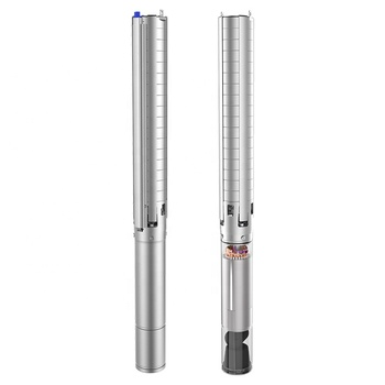 4SP deep well high pressure water deep well submersible solar pump 3 hp kit deep water well hand pump