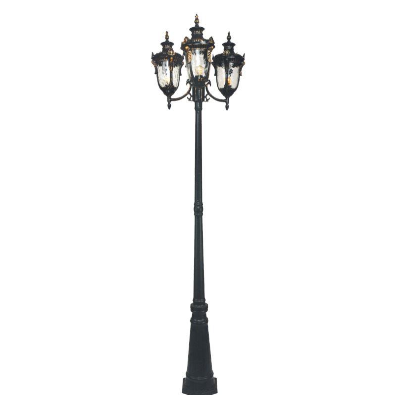 Aluminum Housing Antique Victorian Posts Lights Outdoor Lamp Post Lighting Pole