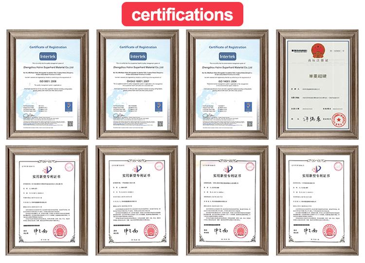 WNMN080604 उच्च गुणवत्ता cbn डालने काटने के उपकरण ठोस indexable आवेषण मिलिंग