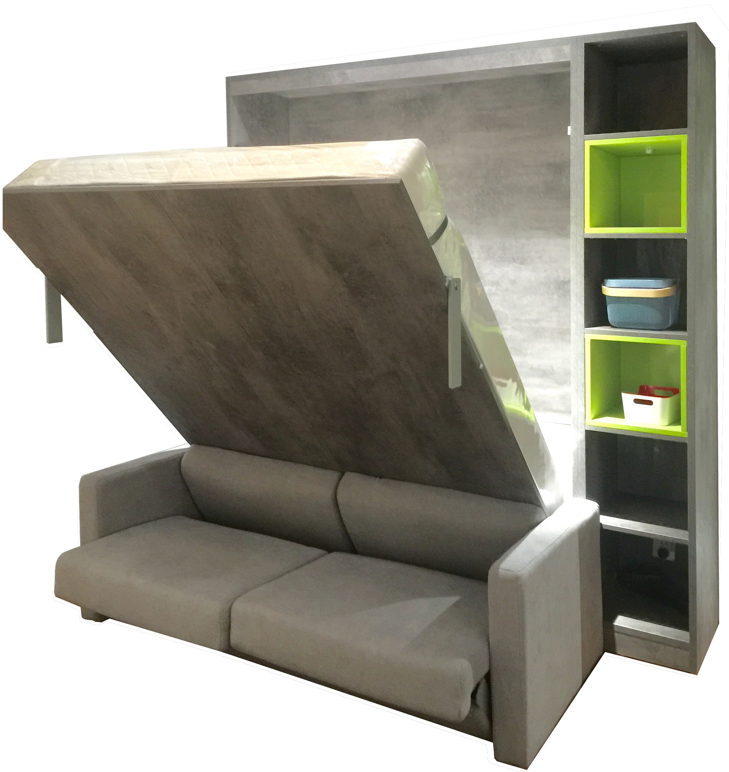 - Foshan Murphy Sofa Wall Bed Space Saving Home Furniture Invisible
