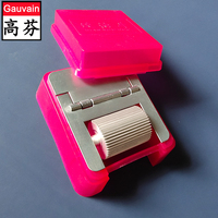 Non-stick oil Inking box for leather edge color painting machine  bag belt wallet