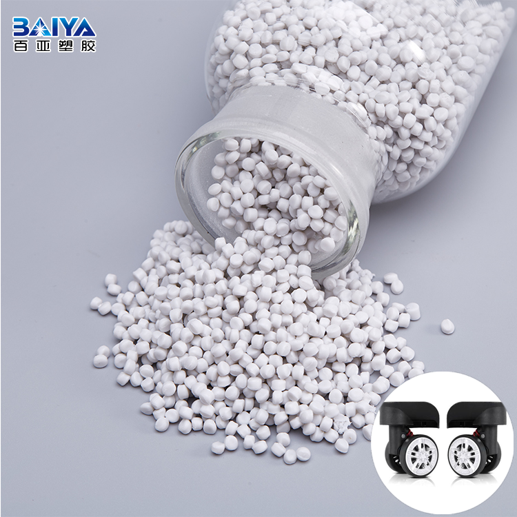 China Business White Thermoplastic Granules TPR For Cat/Dog Toys/Hose