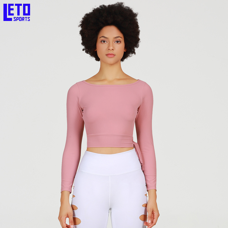 Custom-Made Athletic Apparel Woman's Compression Shirts Blank Thumbholes Long Sleeve