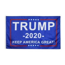 Großhandel 100% <span class=keywords><strong>Polyester</strong></span> 3x5ft Lager 2020 Wahl HALTEN AMERIKA GROßE Donald Trump Flagge