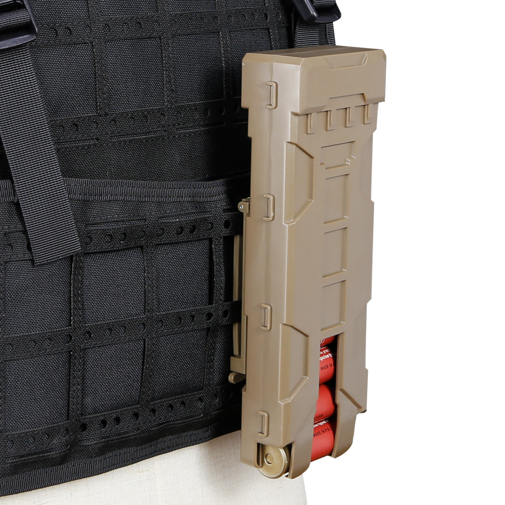 Tactical Pouch Reload Holder Molle Pouch For 12 Gauge Magazine Pouch Ammo Round Cartridge Holder