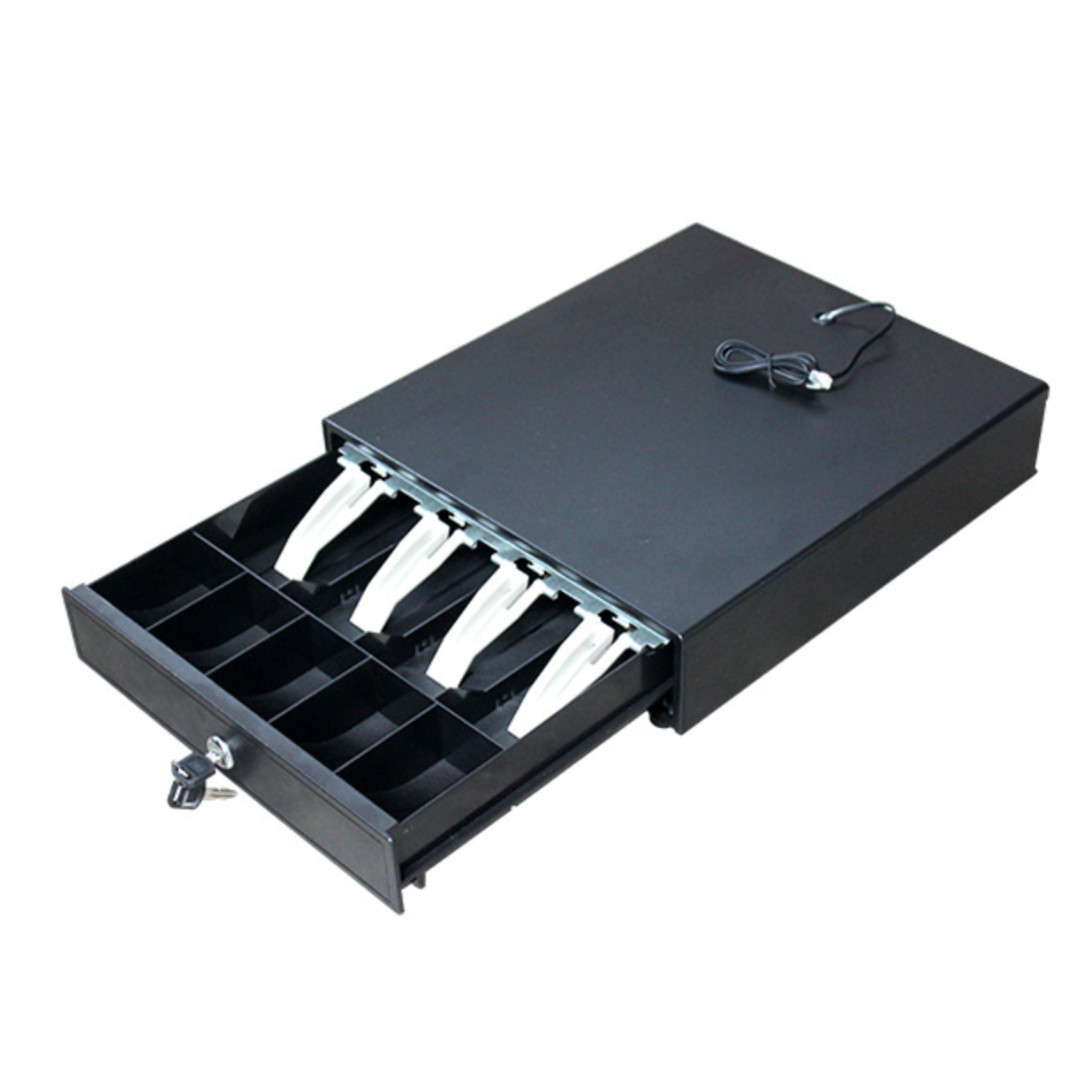 Hot Selling Cash Drawer in POS Systems 12V, High Quality Supermarket Money Lock Box Cash Register for sale