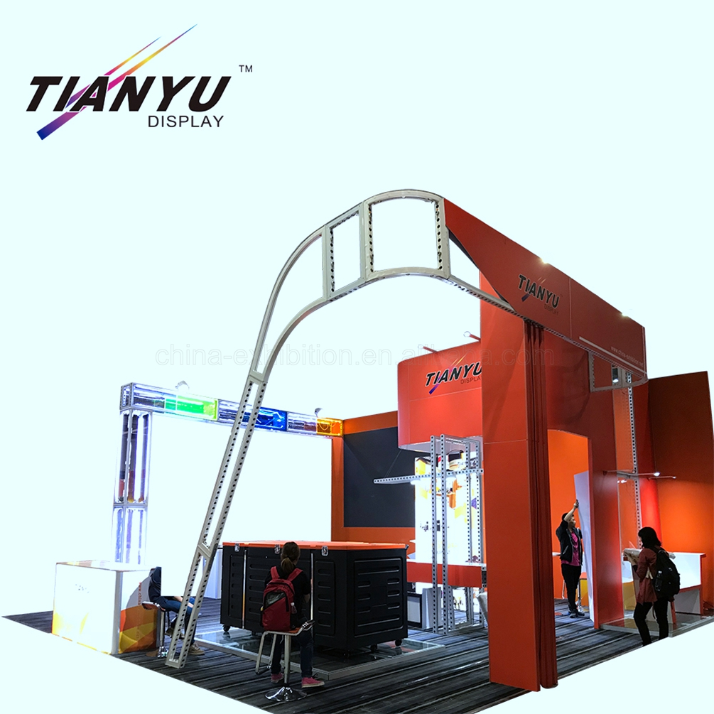 Easy Assemble Modular Display 20x20 Tradeshow Booth