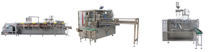 T Rotary Type Automatic Premade Spout Pouch Filling and Capping Machine for Liquid
