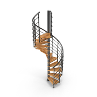 Indoor Spiral Stairs Stainless Steel Wood Stair Design